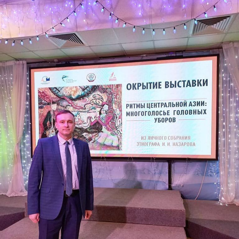 В Новосибирске открылась этнографическая выставка директора ИИМО АлтГУ И.И. Назарова