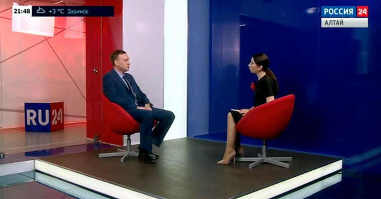 Директор Института И.И. Назаров принял участие в программе ТВ «Россия 24»