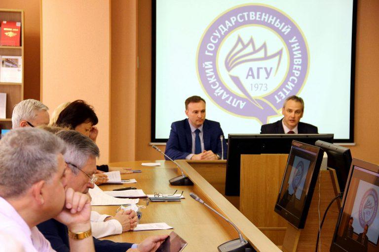 Круглый стол, посвященный истории и современности научных исследований в АлтГУ