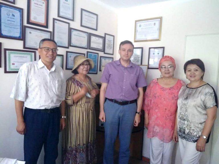 Рабочий визит директора ИИМО в Киргизию