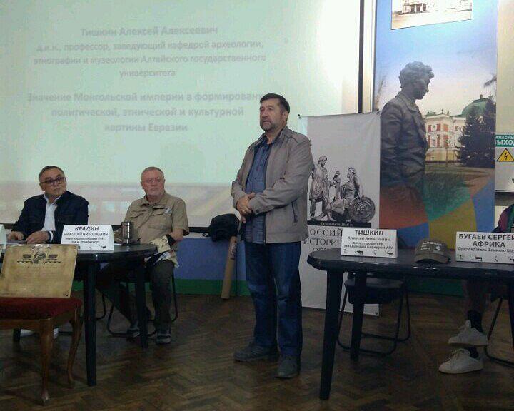Профессор А.А. Тишкин на фестивале «Эргенэ-Кун»